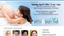 Temecula Valley Birth and Baby Fair April 9