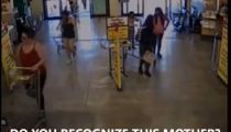 Child abandoned by mother in grocery store