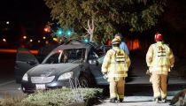 Menifee residents lost power overnight due to a traffic accident