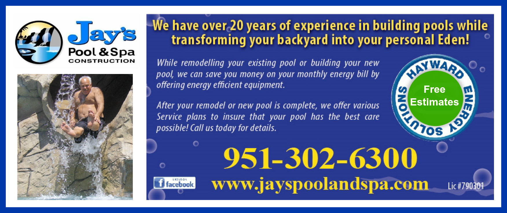 Jays Pool Ad